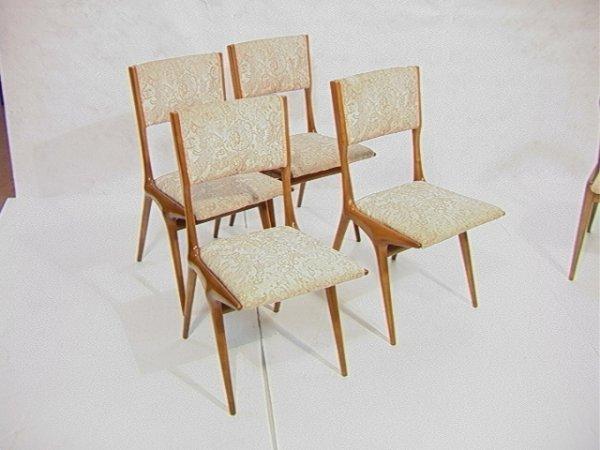 8: Set 4 Carlo De Carli Italian Dining Chairs.  4 Si