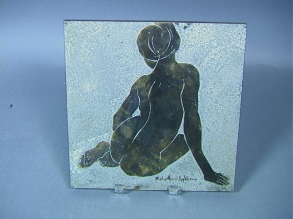 13: Philip and Kelvin Laverne Wall Tile Plaque.  Mati