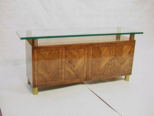 17: MASTERCRAFT Sideboard Buffet.  Matched walnut ven