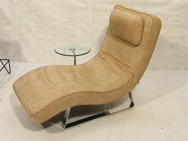 204: Bo Concept Contemporary Modern Chaise Lounge Chai