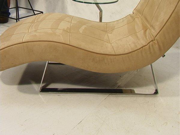 204: Bo Concept Contemporary Modern Chaise Lounge Chai - 2