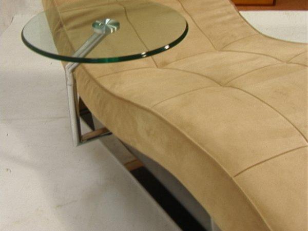 204: Bo Concept Contemporary Modern Chaise Lounge Chai - 4
