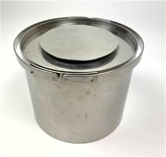 ARNE JACOBSEN FOR LAUFER Ice Bucket. STELTON DENMARK.