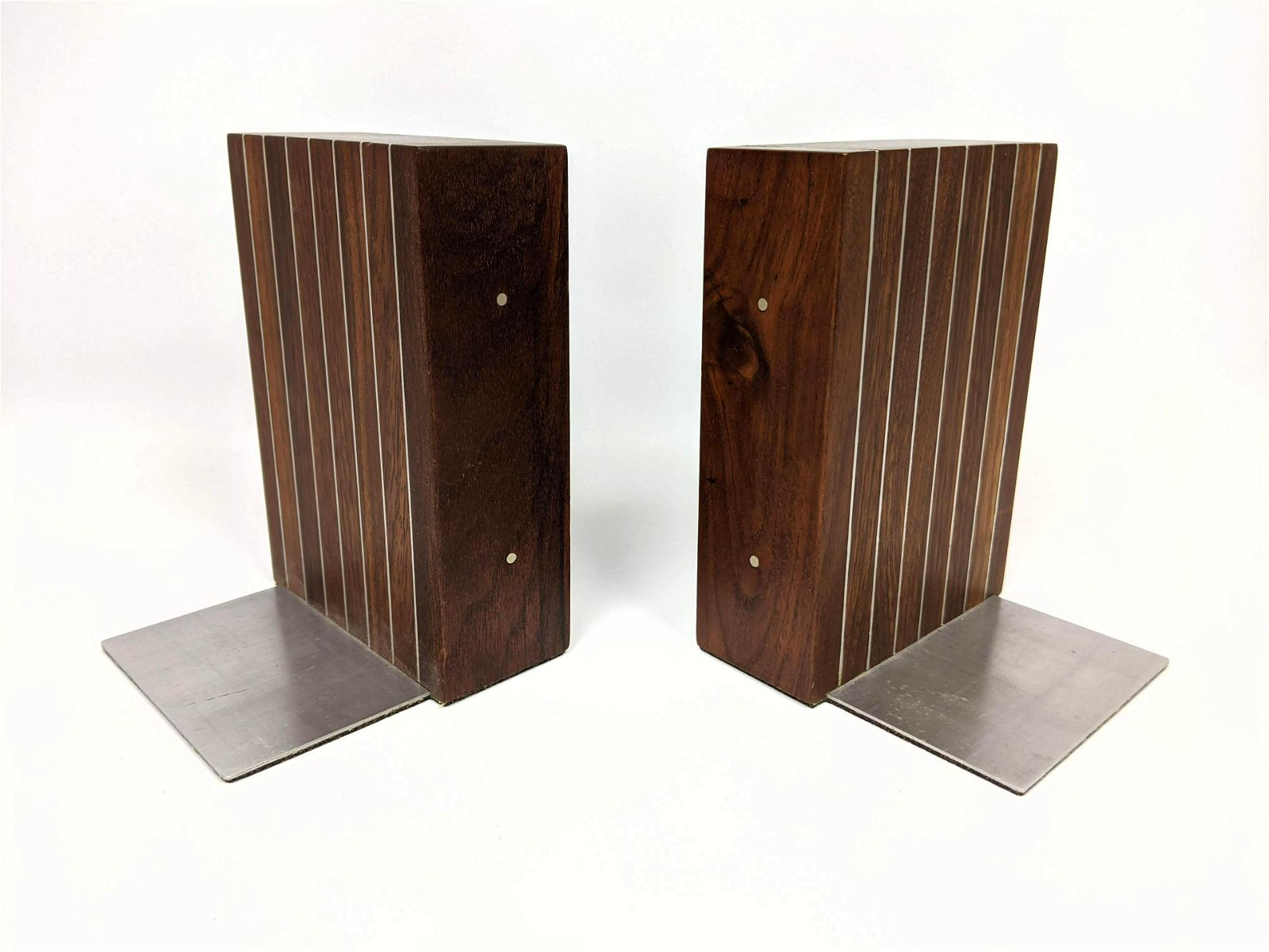 PAUL EVANS AND PHILLIP LLOYD POWELL Bookends. Pair of s