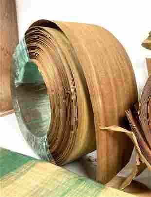 Large Lot Wood Veneers. Curly Maple etc. Measurement is