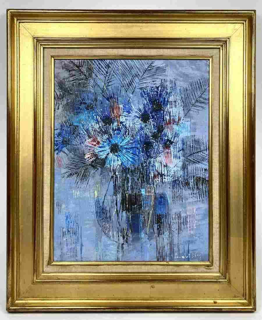 LANCELOT NEY Oil Painting on Canvas. Abstract Modern St