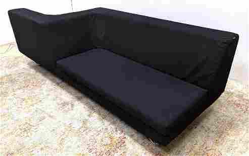 FRIGHETTO Tete a Tete Sofa Lounge Chair Combo. Chrome t