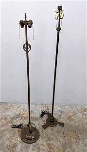 2pcs Art Deco Floor Lamps.