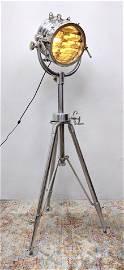 WESTEK Industrial Modern Floor Lamp. Adjustable metal T