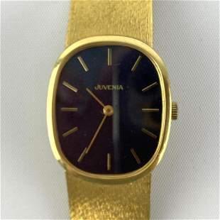 JUVENIA 18K YG GOLD Mens Wrist Watch.  39dwt.