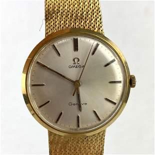 OMEGA Geneve 18K Gold Wrist Watch.   36.4dwt.    18K YG
