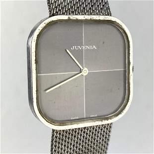 JUVENIA Stainless Steel Wrist Watch.