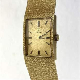 OMEGA 14K YG Gold Wrist Watch. 35dwt.   14K