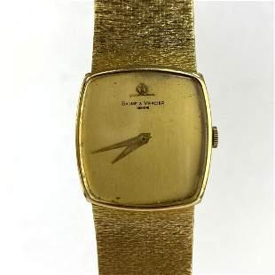 BAUME MERCIER 18K Gold Wrist Watch    47dwt.   18K. YG.