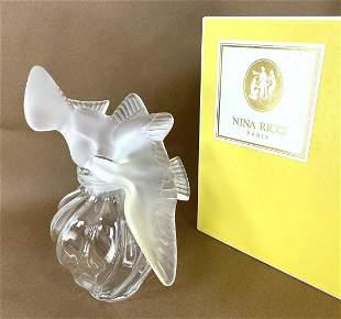Large NINA RICCI Display Perfume Bottle. FACTICE BOTTLE