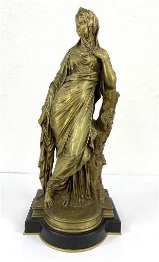 DESIRE PIERRE LOUIS MARIE Bronze Sculpture.  Signed. Fi