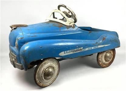 "Vintage Pedal Car. ""Champion"" Jet Flow Drive. Metal Air"
