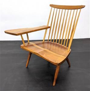 GEORGE NAKASHIMA Paddle Arm Chair. Single paddle arm. T