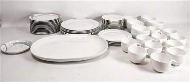 ROSENTHAL Studio Line Porcelain Dinnerware. China Set.