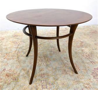 ROBSJOHN GIBBINGS for WIDDICOMB Banded Side Table. Roun