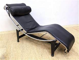 Le Corbusier LC4 Style Chaise Lounge Chair. Unmarked.