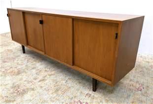 Florence KNOLL Sideboard Credenza Cabinet.  Sliding Doo