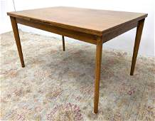 VEJLE STOLE Dining Table Refractory Style Danish Modern
