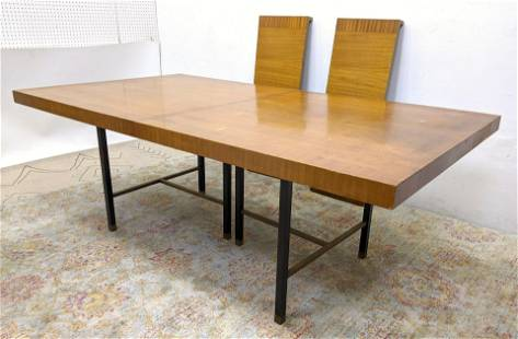 HARVEY PROBBER Dining Table. American Modern Dining Tab