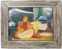 Still life watercolor on paper signed KERSH 1960