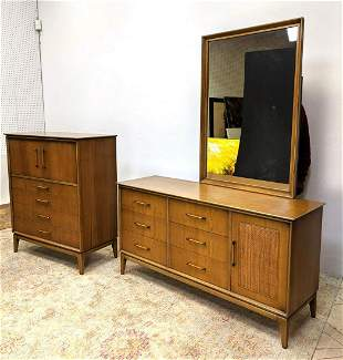 CENTURY Mid Century Modern Bedroom Furniture. High Ches