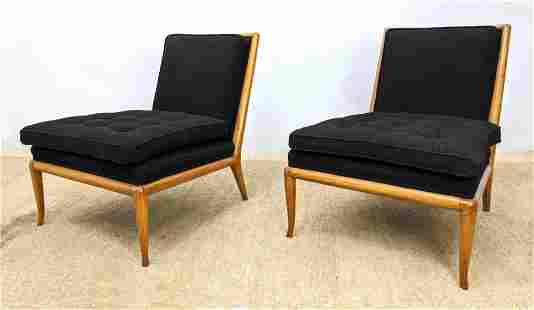 Pr ROBSJOHN GIBBINGS for WIDDICOMB Slipper Chairs. Arml