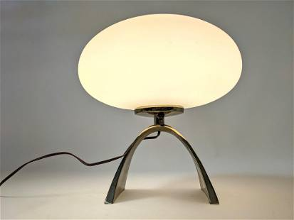 LAUREL Mushroom Lamp with Arched Base. William Curry de