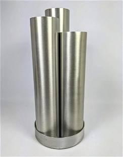 HABITAT Aluminum Umbrella Stand. 3 Tubes. PAUL MAYEN.