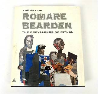 ROMARE BEARDEN Signed Book. The Prevalence of Ritual.