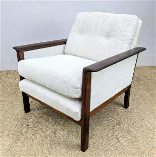 Hans Olsen Danish Modern Rosewood Lounge Chair. Reuphol
