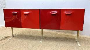 Raymond Loewy, double-sided DF 2000 cabinet Credenza Ba