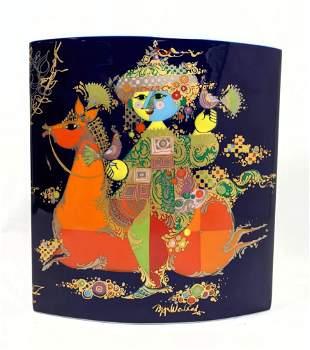BJORN WIINBLAD Porcelain Vase.
