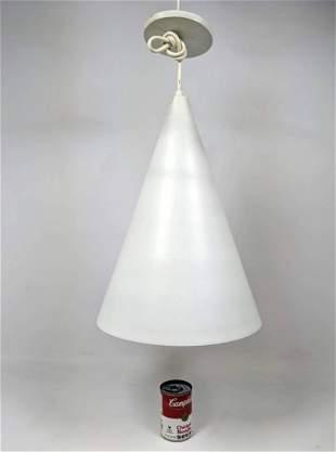 Mid Century Modern White Some light scuffs. Enameled Me