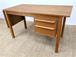 G. V. Danish Modern Teak Drop Side Desk. Work from Home