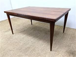 J. L. Moller Danish Modern Rosewood Dining Table.