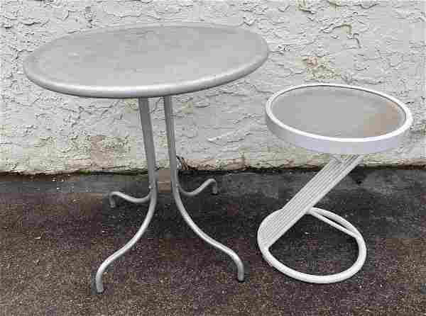 2 outdoor Patio Tables.