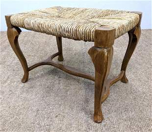 French Style wrapped Cord Stool.