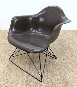 HERMAN MILLER Fiberglass Shell EAMES Lounge Chair. LA