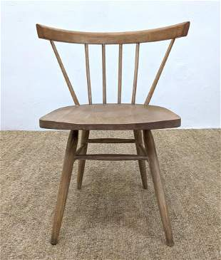 Nakashima style Captain's Dining Chair. Similar style t