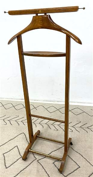 Italian Modern Valet Clothes Stand.