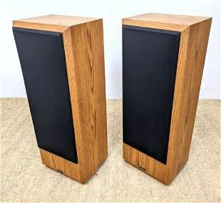 Pair NEAR Loudspeakers. Speaker model NEAR-80. New Engl