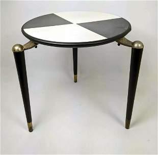 Small JONKEN Side Table with Peg Legs.