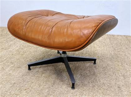 Herman Miller EAMES 670 Ottoman. Rosewood and leather.