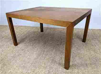 DUNBAR Square American Modern Coffee Table. Label.