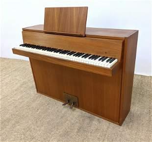 HINDSBERG DANSK Modernist Spinet Piano. Made in Denmark